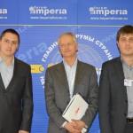 Александр Пушков, Клаудио Челата, Михаил Бежанишвили