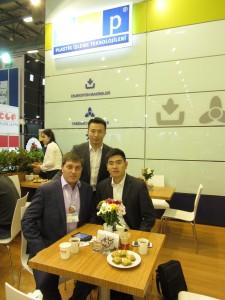 Встреча с участниками выставки